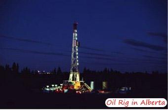 Oil Rig in Alberta