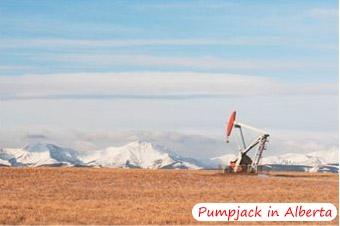 Oil Pumpjack in Alberta