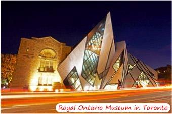 Royal Ontario Museum in Toronto, Ontario