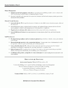 construction manager resume sample page 2 - Construction Manager Resume Sample