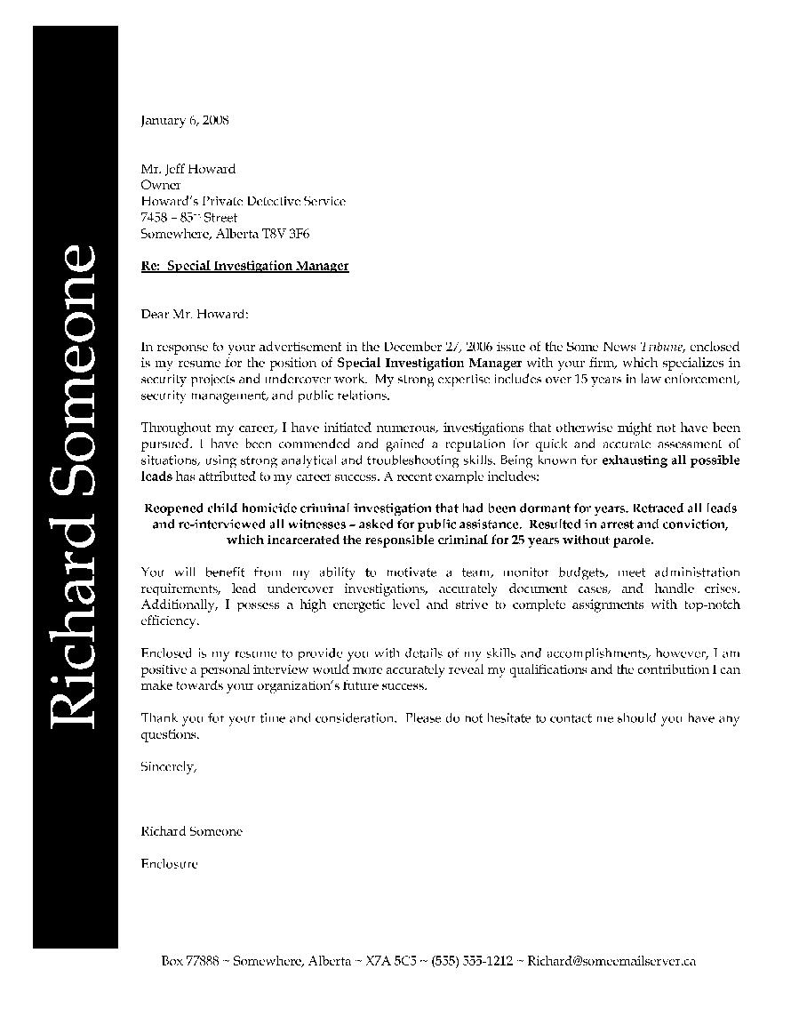 police resume samples resume cv cover letter - Asbestos Surveyor Cover Letter