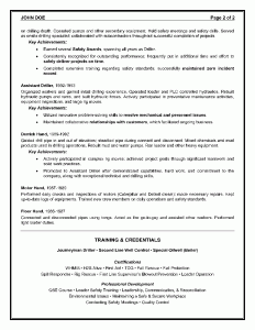 Oilfield Consultant Resume Sample - Page 2
