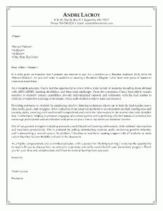 Kindergarten Teacher Aide Cover Letter