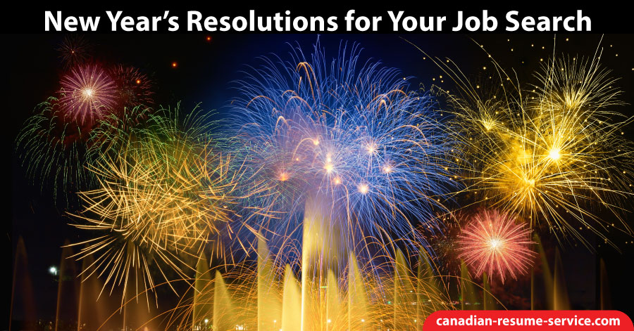 New Year's Resolutions for Your Job Search