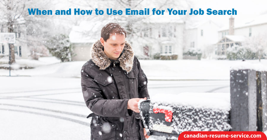 When and How to Use Email for Your Job Search