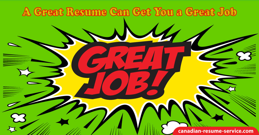 A Great Resume Can Get You a Great Job