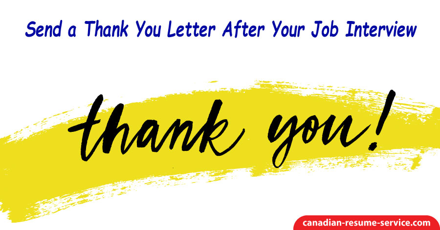 Thank You Letter For The Job from canadian-resume-service.com