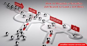 How to Organize a Canadian Job Search to Land a Job Offer