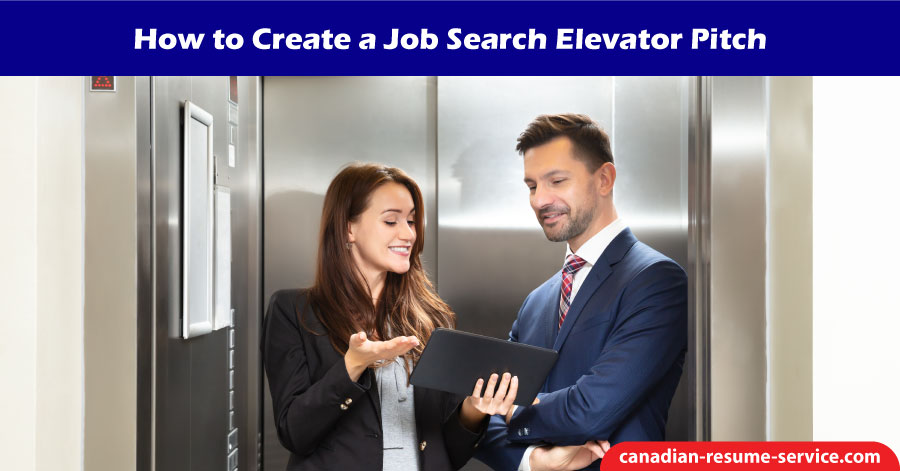 How to Create a Job Search Elevator Pitch
