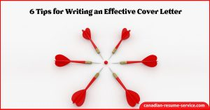 6 Tips for Writing an Effective Cover Letter