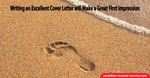 Writing an Excellent Cover Letter will Make a Great First Impression