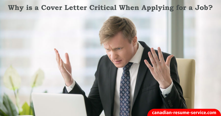 Why is a Cover Letter Critical When Appying for a Job?