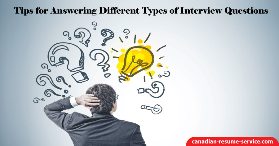 Tips for Answering Different Types of Interview Questions