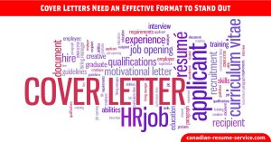 Cover Letters Need An Effective Format to Stand Out