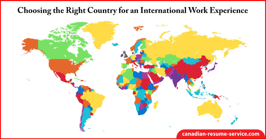 Choosing the Right Country for an International Work Experience