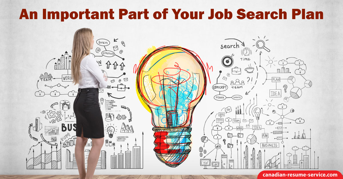 an important part of your job search plan