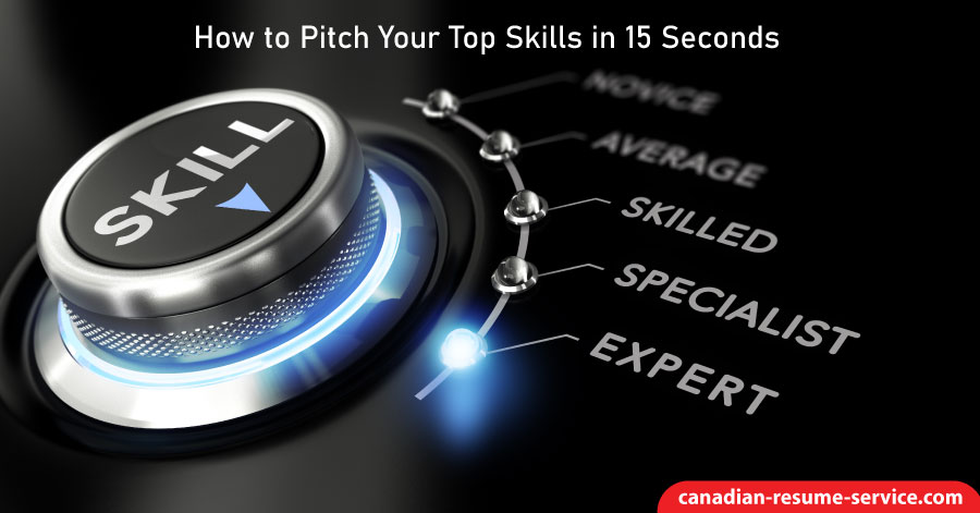 How to Pitch Your Top Skills in 15 Seconds