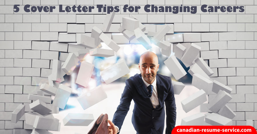 Cover Letter Tips for Changing Careers