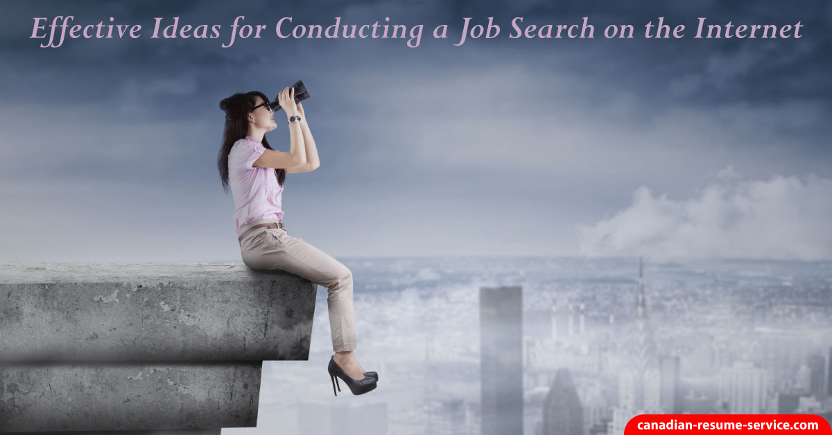 Conducting A Job Search On The Internet