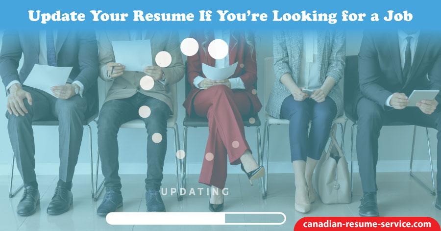 Update Your Resume if You're Looking for a Job
