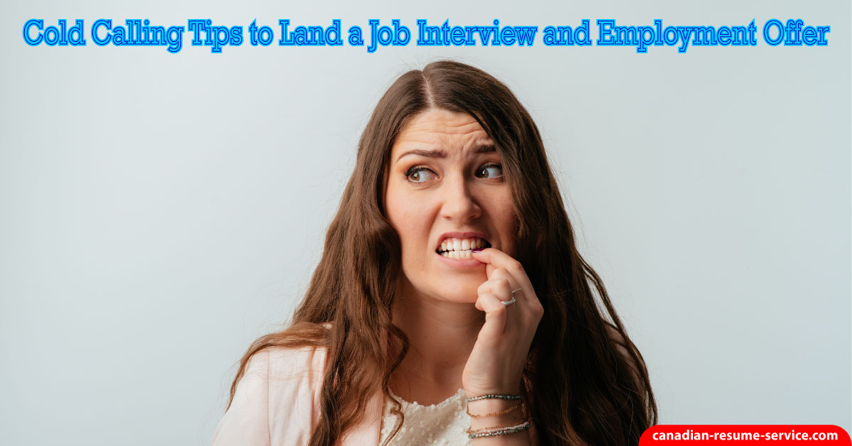 Establishing Employment Contacts Through Cold Calling