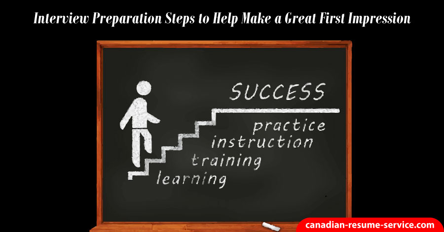 Interview Preparation Steps to Help Make a Great First Impresssion