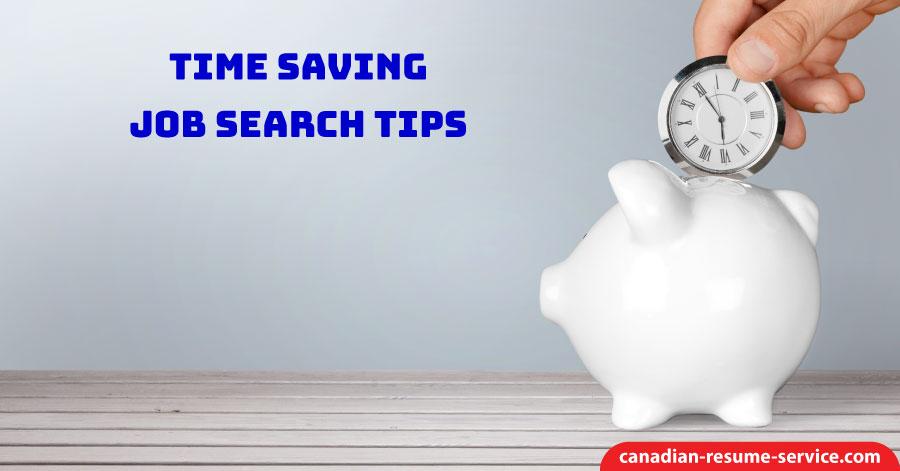 Time Saving Job Search Tips
