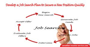 Develop a Job Search Plan to Secure a New Position Quickly