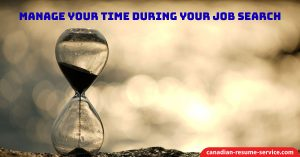 Manage Your Time During Your Job Search