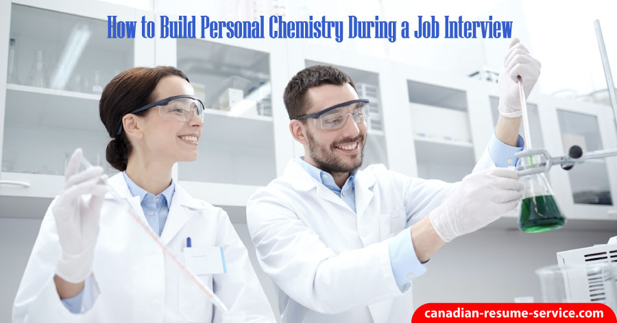 building chemistry during job interview