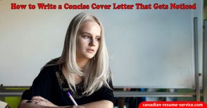 How to Write a Concise Cover Letter That Gets Noticied