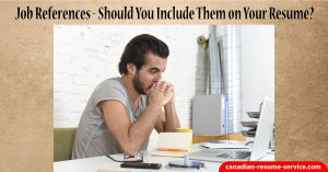 Job References - Should You Include Them on Your Resume?