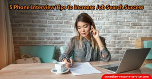 phone interview tips to increase job search success
