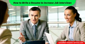 resume to increase job interviews