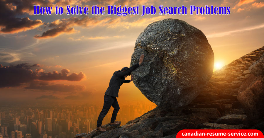 How to Solve the Biggest Job Search Problems