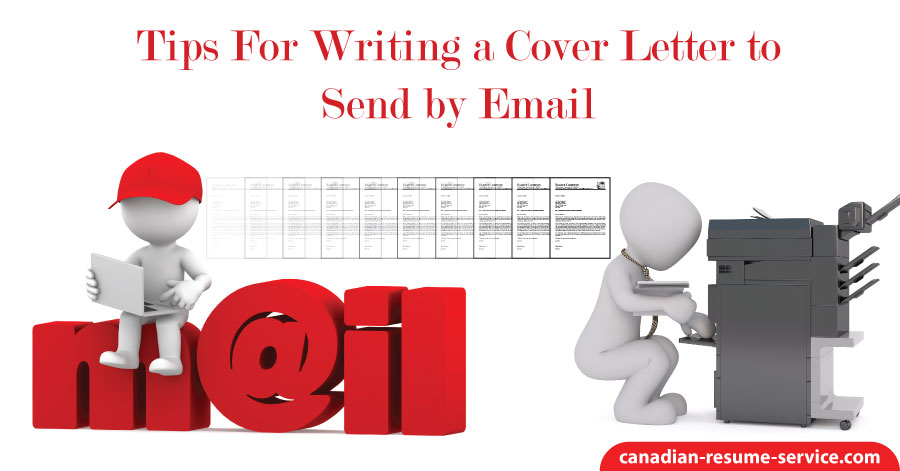 tips for writing a cover letter to send by email