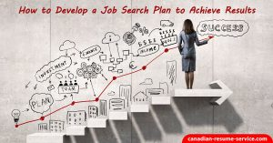 how to develop job search plan