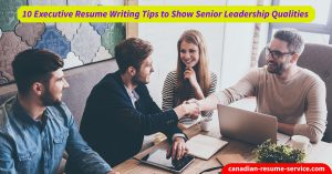 executive resume writing tips