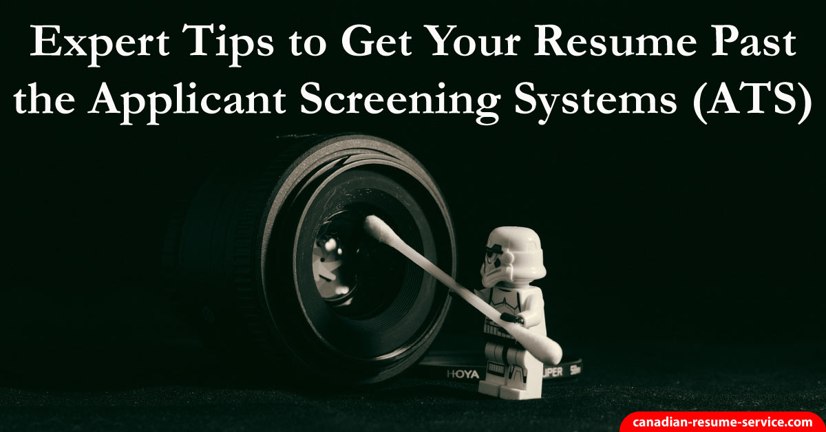 Expert Tips To Get Your Resume Past The Applicant Tracking