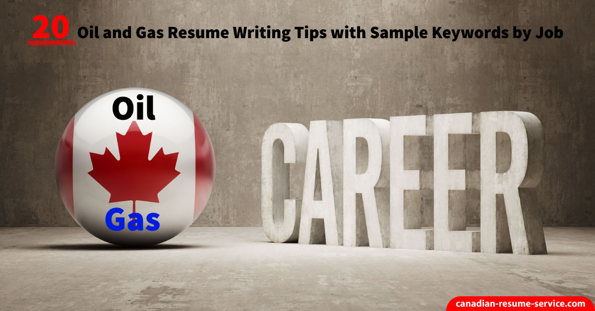 Cv writing service oil and gas